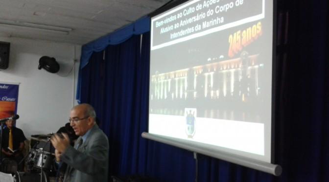 245º ANIVERSÁRIO DO CORPO DE INTENDENTES DA MARINHA DO BRASIL
